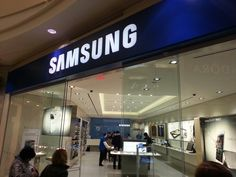 The Samsung Store..