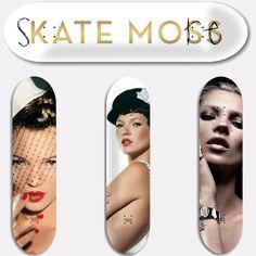 Art | Skate Moss Decks by Jeff Gaudinet