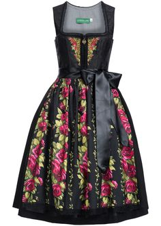 Country Line Dirndl ROSALINDE schwarz | Frauen | LAWANGO - Trachten, Dirndl und Fashion Shop