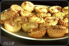 Mini tartelettes lardons camembert