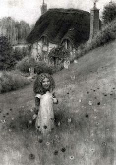 "Saatchi Online Artist Martin Wing; Drawing, ""The Butterfly Keeper"" #art"