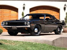 Sexy beast - '70 Challenger rag top #muscle #car