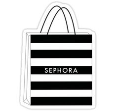 """Bag' Sticker by """"Sephora Bag"""" Stickers by Makeup Stickers, Phone Stickers, Cool Stickers, Printable Stickers, Macbook Stickers, Kawaii Stickers, Red Bubble Stickers, Preppy Stickers, Sephora Bag"""