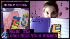 My Life as Foteini ♥: Back 2 School : How to Organize your School Binder...