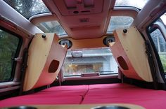 Delica L300 Utility Wagon by Glenn Ross, via Behance. I just finished this mod for my van.