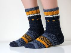 Best socks ever. Hand knit wool socks, size - woman US 8-8.5 or man US 7-7.5, EU 39-40, adults, unisex. $23.50, via Etsy.
