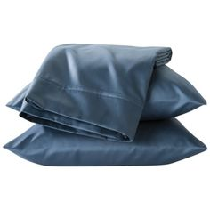Threshold™ Performance Sheet Set - Solid Color - Xavier Navy, Overcast Blue, Washed Blue Size - Queen