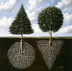 """""""Dynamic activity and deep rest of the mind are complementary to each other."""" - Deepak Chopra 🌲Art by Rafal Olbinski. Yin Yang Art, Rare Images, Deep Meaning, Best Vibrators, Surreal Art, Sacred Geometry, Art And Architecture, New York Times, Decoration"""