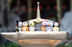 Tsum Tsum from Disney - they are so cute, I want them all! Shut up and take my money, Disney! Minecraft Toys, Cool Minecraft, Disney Pins, Walt Disney, Tsumtsum, Disney Tsum Tsum, Kawaii, How To Train Your Dragon, Disney Movies