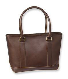 L.L.Bean Town and Field Tote, Leather Mini in Dark Brown. This looks like it'll be a great replacement for my Longchamp bag.