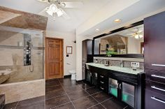 Craftsman Master Bathroom - Come find more on Zillow Digs!