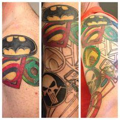 superhero tattoos - Google Search
