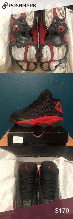 wholesale dealer a9845 36f08 Air Jordan Retro 13 BRED U.S Men s Size 9 Jordan Shoes Sneakers