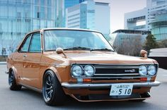 Datsun 510 - No pun intended but these are rare birds these days. Datsun 1600, Datsun Car, Classic Japanese Cars, Classic Cars, Retro Cars, Vintage Cars, Datsun Bluebird, Chevy, Nissan Infiniti