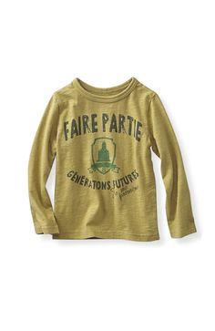 親子の休日に大活躍!何枚も着倒したいわが家のチームTシャツ 毎日着たくなる タフな顔のくったりロゴTシャツ〈キッズ〉の会