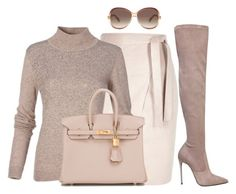 """""""Untitled #55"""" by divamanda ❤ liked on Polyvore featuring moda, Le Silla, Hermès y Marc Jacobs"""