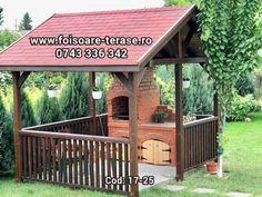 Portofoliu - Bucuresti si Ilfov - foisoare-terase.ro Gazebo, Outdoor Structures, Kiosk, Pavilion, Cabana