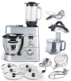 Robot da cucina Kenwood Cooking Chef ed accessori, il miglior amico ...