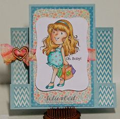 Oh, Baby, Thinking of You!  for Crafty Sentiments