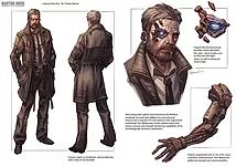 Concept art gallery showcasing a series of character and environment designs for video games created by Clayton Barton.