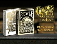Golden Spike Playing Cards-Launching on June 30th, 2014 on Kickstarter