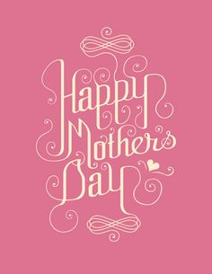 Mother's Day by Amelie Au, via Behance Happy Mother's Day Moo & Hen!