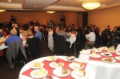Guests enjoying the Dinner/Gala at Trees of Hope WI  on Sat Nov 17th  All supporters of the mission to fight Blood Cancers