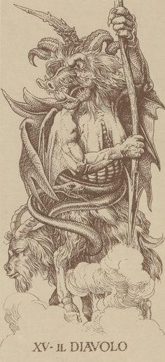 Durer Tarot - Devil