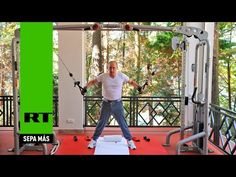 Videoclub – Entre las pesas y la parrilla: Putin y Medvédev se ejercitan en el gimnasio y comen asado