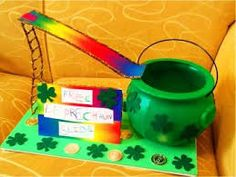 St Patrick's Day Leprechaun Trap -- Preschool Project to Catch one of the Sneaky Little Leprechauns on Saint Patrick's Day Preschool Projects, Projects For Kids, Leperchaun Trap, St Patricks Day Crafts For Kids, Kobold, Simple Machines, St Paddys Day, St Pattys, Leprechaun