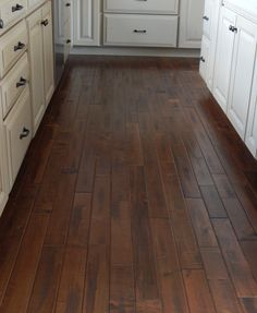 Hardwood in the kitchen