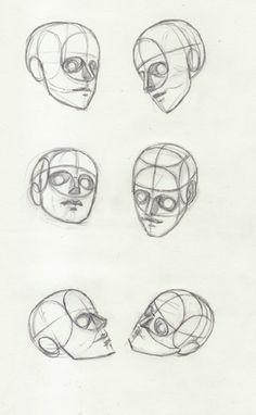 Sketchbook: Head Construction Sketchbook - Page 2