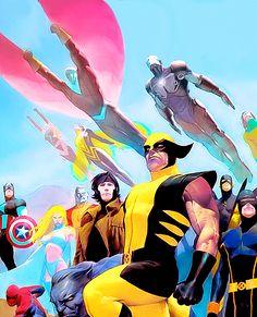 The X-Men - Esad Ribic