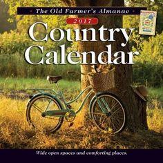 The Old Farmer's Almanac Country 2017 Calendar