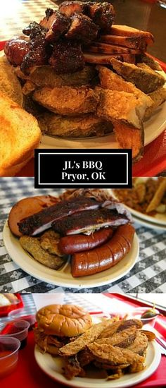 Dig into a true Oklahoma feast at JL's Barbeque in Pryor! With all of the classics like pulled pork, smoked ribs, beef brisket, and polish sausage, JL's can satisfy and taste and any appetite! If you have a crowd to feed you can take home meat by the pound to feed your family, guests, or lucky visitors!