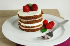 A soft airy chocolate sponge cake, layered with homemade cremé fraîche and raspberry pastry cream.