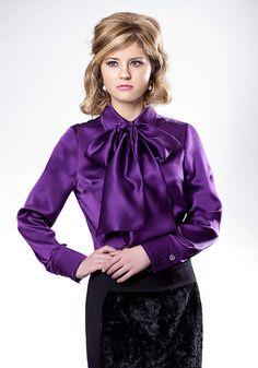 Silk Bow Blouse