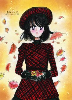 hotaru tomoe - Fall days by zelldinchit.deviantart.com on @deviantART