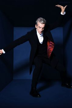 Peter Capaldi for Radio Times
