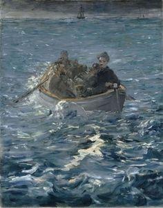 edouard manet, l evasion de rochefort, peinture