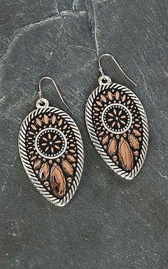 Montana Silver Smith Sunset Prairie Clover Earrings | Cavender's