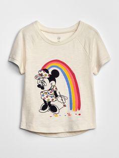 Minnie Teens grau Disney Minnie Mouse Langarmshirt Just be Cute