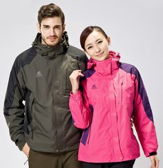 Cheap jacket waterproof, Buy Quality waterproof windbreakers directly from China waterproof jacket Suppliers: Outdoors Warm Autumn winter Jacket Waterproof Windbreaker Man Coat Female jacket Walking and hiking hunting clothes Hiking Jacket, Rain Jacket, Coats For Women, Jackets For Women, Mens Windbreaker, Hunting Clothes, Warm Autumn, Winter Outfits Women, Outdoor Outfit