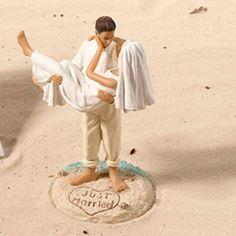 Just Married Beach W