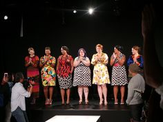 Our Recap and Thoughts of the First Plus Size Line to show at Mercedes Benz Fashion Week- Cabiria