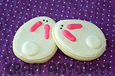 easter cookies -