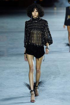 SAINT LAURENT GIOVANNI GIANNONI / WWD (c) Fairchild Fashion Madia