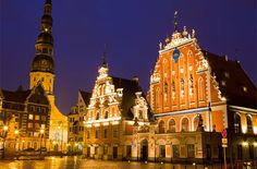 Riga! One of Europe's most affordable cities right now. And, pretty easy on the eyes as well. #travel