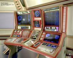A futuristic control panel by Danilo Egizio #3dart