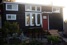 Stunning Self Built Tiny House On Wheels - TinyHouseBuild.com